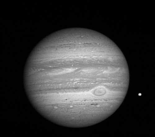 宇宙木星卫星真实图片