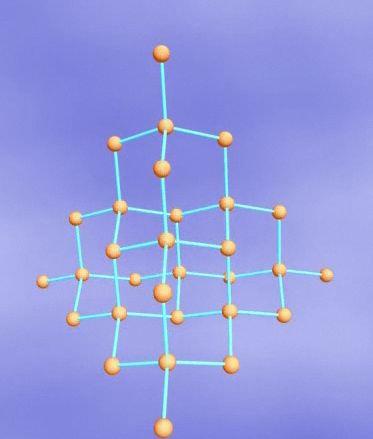 金刚石晶体结构