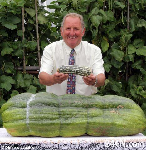 菲利普/据英国《每日邮报》报道,来自南威尔士兰哈里的菲利普种植巨型...