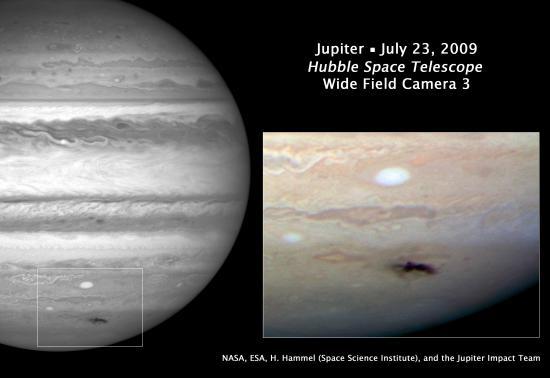 木星遭撞击发现过程揭秘:留下地球大小疤痕