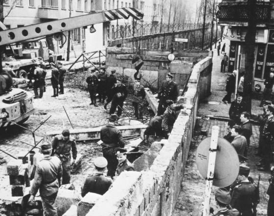 柏林墙:历史上一道难以抹去的丑陋伤疤-世界近现代史