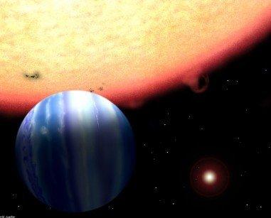 """热木星变身""""杀手星球"""" 险些将地球毁灭"""