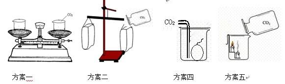 二氧化碳的密度探究实验活动设计