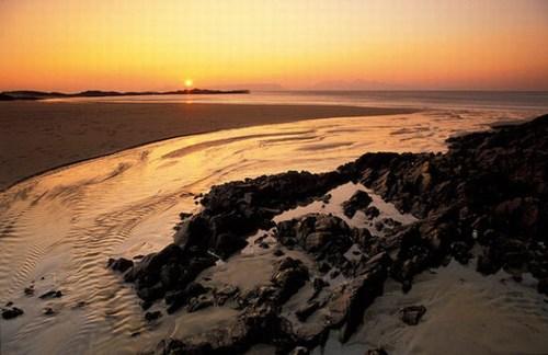 崎嶇的海岸線為蘇格蘭高地勾畫出了柔美的線條