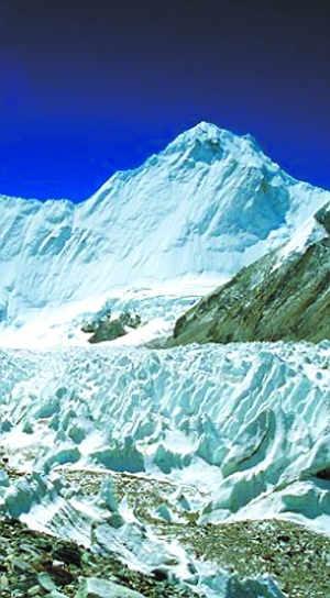 喜马拉雅冰川融化速度被高估高清图片