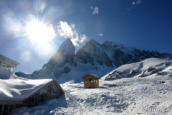 雪山图片 风景 冰封