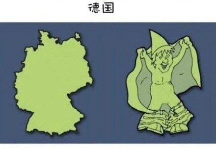 卡通欧洲地图-综合学科网
