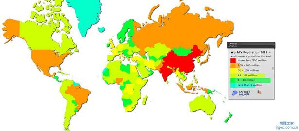 世界人口前十名_世界人口前十名国家-悲观者称地球90亿人口是极限