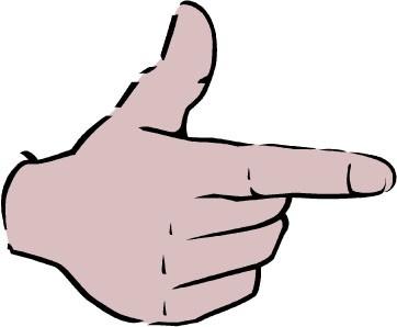 五个手指怎么说?