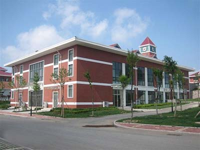 青岛市城阳十一中学位于城阳区