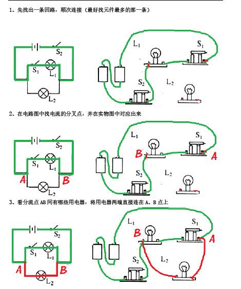 初三物理期末复习专题:串并联电路解析-解题指导
