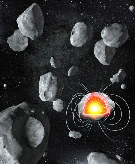 它们的内核必定在太阳系形成几百万年后便形成并开始