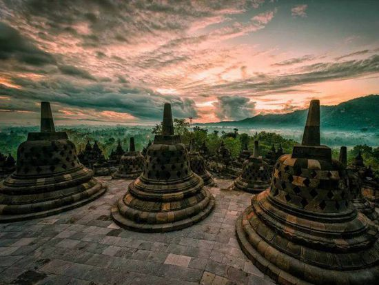 印尼--婆罗浮屠-学科网资讯中心
