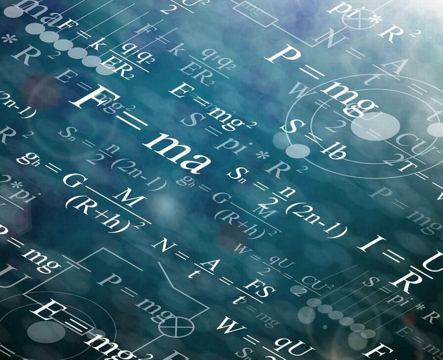 物理封面素材矢量图
