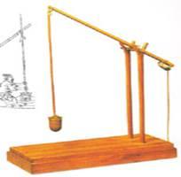 初中学法杠杆知识点:初中─秤(标点)桔槔-中考书名号物理天平图片