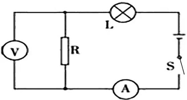 电灯故障时先分析电路连接方式:(1)两灯串联时,如果只有一个灯不亮