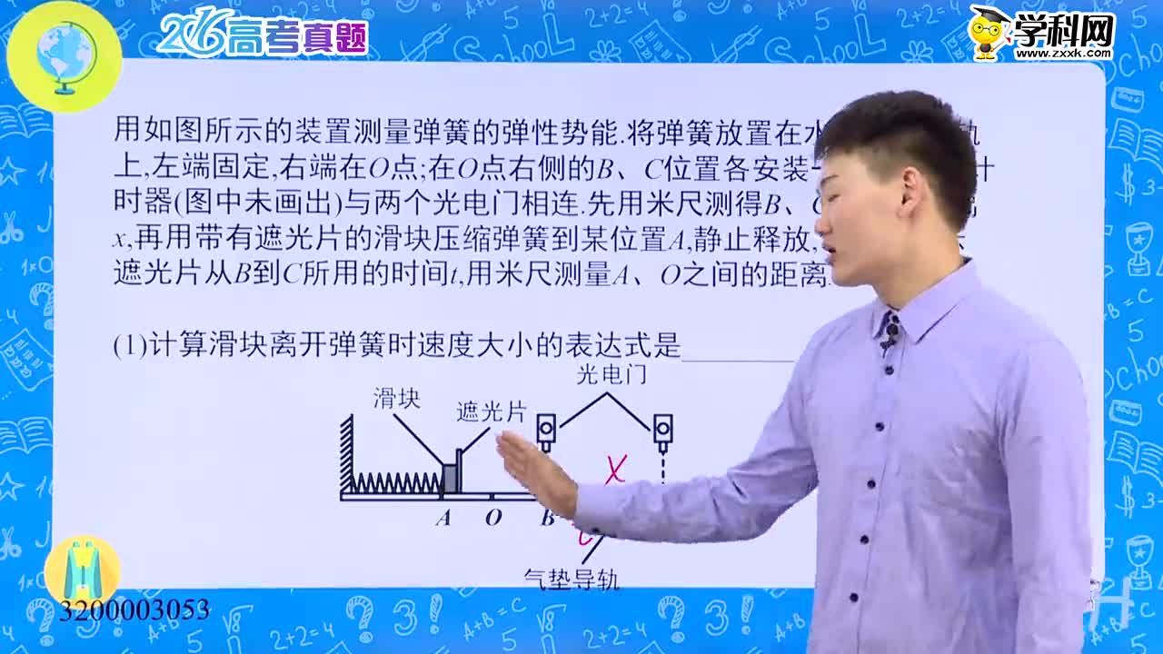 高考物理 真题解析——2016四川卷突破力学实验-试题视频
